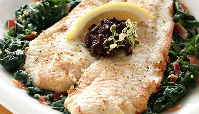 Wild Alaska Salmon Florentine